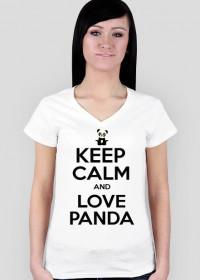 Koszulka - Keep Calm And Love Panda