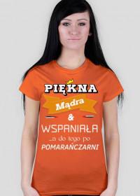 Koszulka - Osoba która słuchała pomarańczarni
