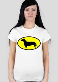 Koszulka damska Jamnik Batman