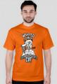 Kot Schrodingera - koszulka naukowa z nadrukiem