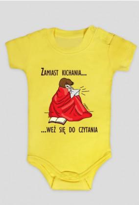 Body niemowlęce Zamiast kichania weź się do czytania