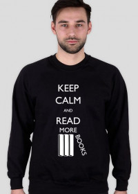Bluza męska czarna Keep calm