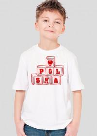 "Koszulka ""Polska-klocki"""