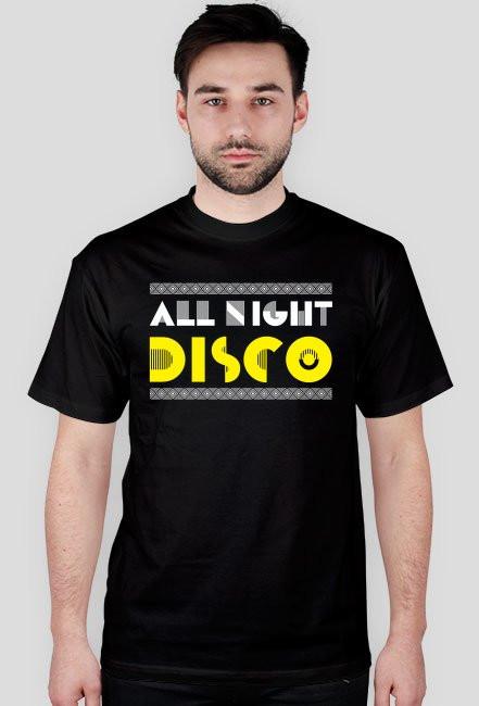 Koszulka męska ALL NIGHT DISCO (różne kolory)