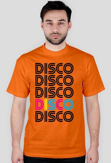 Koszulka męska DISCO (różne kolory)