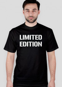 Koszulka t-shirt męski z nadrukiem Limited Edition