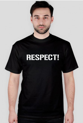 Koszulka t-shirt męski z nadrukiem Respect!