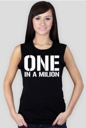 Koszulka Tank Top Loose Fit z nadrukiem One in a Milion
