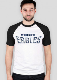 Koszulka WE męska czarno-biała