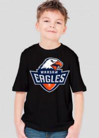 Koszulka WE dziecięca czarna