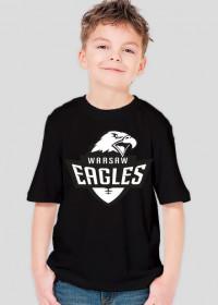 Koszulka WE dziecięca czarno-biała