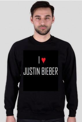 Bluza I LOVE JUSTIN BIEBER