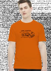 Work Smart Not Hard v2 (t-shirt) ciemna grafika