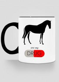 Horses kubek