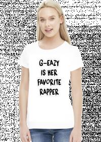 G Eazy is her favorite Rapper GIRL