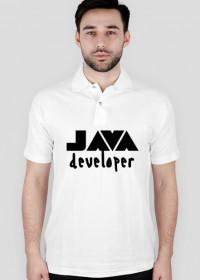Koszulka POLO JAVA developer