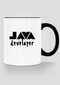 Kubek z czarnym uszkiem JAVA developer