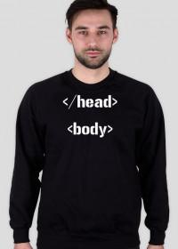 Bluza bez kaptura HTML