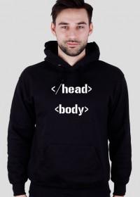 Bluza z kapturem HTML