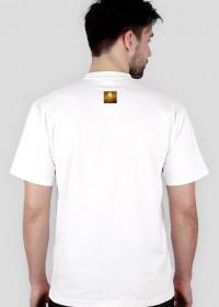Biała koszulka męska