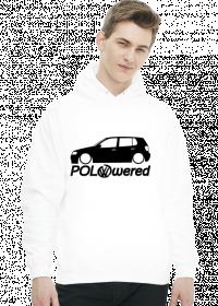 POLOwered v1 (bluza) ciemna grafika przód