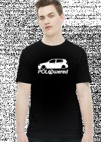 POLOwered v1 (koszulka) jasna grafika przód