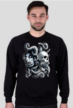 zombie ornament - czarna