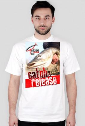 Koszulka męska CATCH & RELEASE