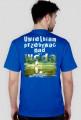 Koszulka męska UWIELBIAM PRZEBYWAĆ NAD WODĄ