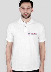 Polo FUN4TWO Logo WHITE