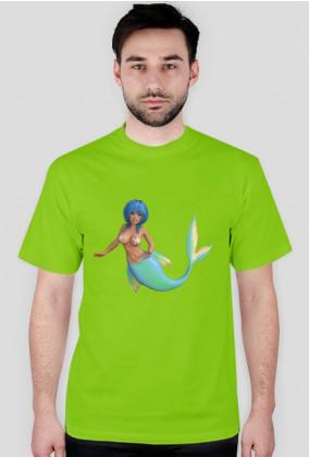 Koszulka 3 t-shirt męski z nadrukiem  SYRENKA