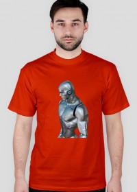 Koszulka 3 t-shirt męski z nadrukiem CZŁOWIEK ZE STALI