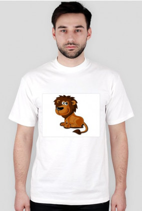 Koszulka 3 t-shirt męski z nadrukiem LEW TO JA
