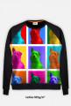 Drops Pop-art - Bluza FullPrint MuodeMotywy