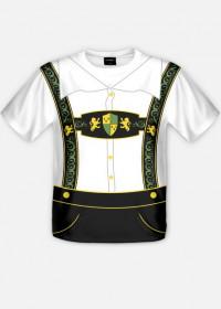 Koszulka bawarska Oktoberfest full print