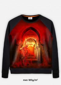 Bluza mroczna fantasy fullprint