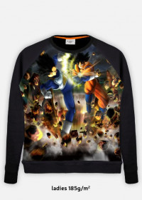 Damska bluza Dragon Ball Goku i Vegeta