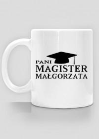 Kubek Pani Magister z imieniem Małgorzata