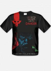 T shirt Breaking Bad Danger