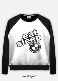 BLUZA MĘSKA EAT SLEEP BMW