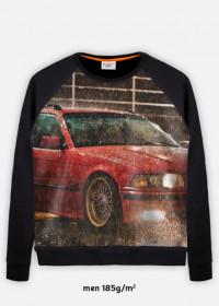 BLUZA MĘSKA BMW RED