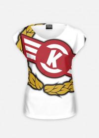 Koszulka damska sublimowana KS Kolejarz