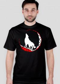 Biały Wilk - koszulka męska Prawo Wilka