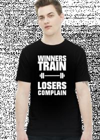 Winners Train Losers Complain (t-shirt) light image