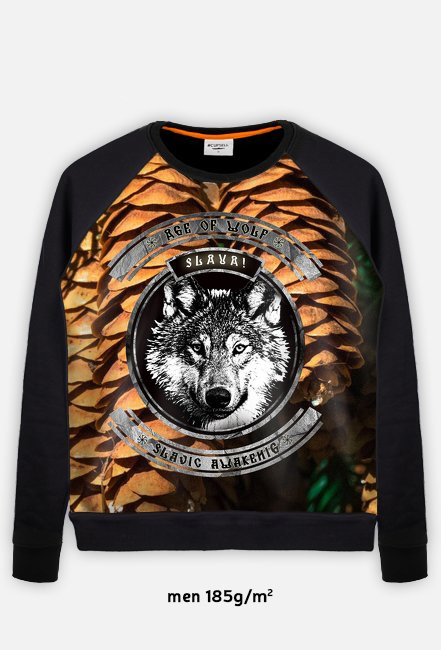 Age Of Wolf - Era Wilka - Slavic Awakening Full Print Bluza Longsleeve Sweater
