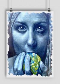 """""""Woman in blue"""""""