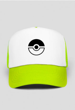 Czapka Pokemon Go POKEBALL