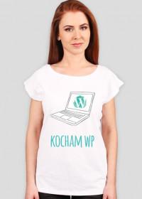Kocham WP - geek - koszulka damska