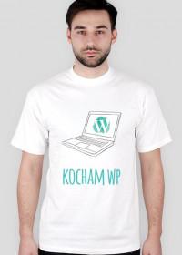 Kocham WP - geek - t-shirt męski