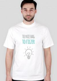 To nie bag to ficzer - geek - t-shirt męski
